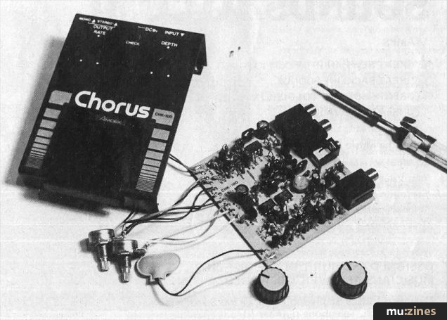 Amdek chorus kit 12t nov 82 there are two ways of looking at electronics construction kits cash and creativity you can build your own effects unit because its cheaper than buying a solutioingenieria Gallery