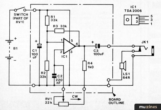 Vero Project 1 Tone Generator Emm May 81
