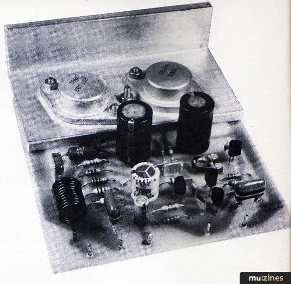 Mosfet Amplifier (EMM Jun 81)