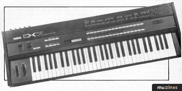 Yamaha DX7 (12T Nov 83)