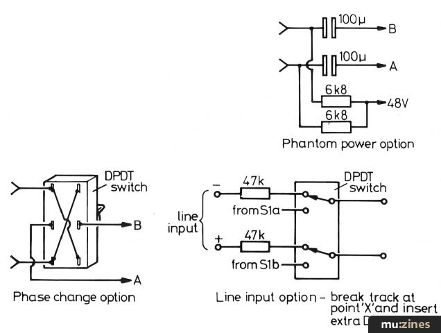 Balanced Microphone Preamp Project (HSR Aug 84) on tremolo schematic, switch schematic, receiver schematic, rectifier schematic, wireless schematic, computer schematic, power schematic, tube schematic, distortion schematic, compressor schematic, amp schematic, reverb schematic, speakers schematic, keyboard schematic, radio schematic, vibrato schematic, input schematic, guitar schematic,