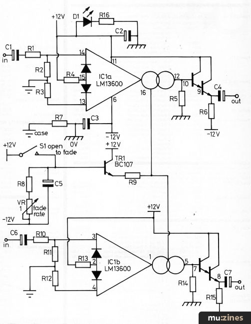 Hsr Stereo Autofader Project Hsr Nov 84