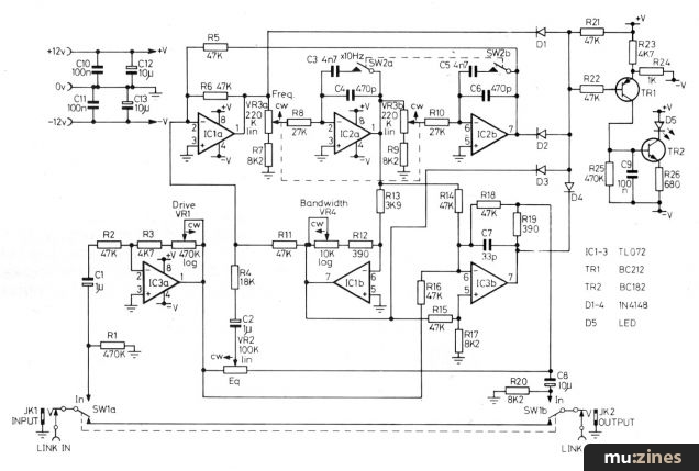 Parametric Equaliser Project (HSR Mar 85)