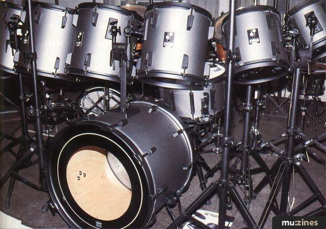 Drumcheck Sonor Phonic Plus Hitech Kit (IM Apr 86)