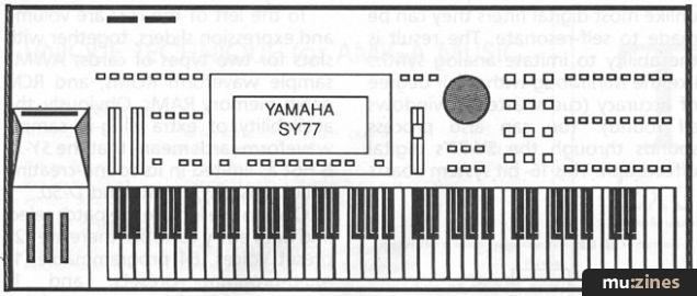 Yamaha SY-77 (MIC Mar 90)