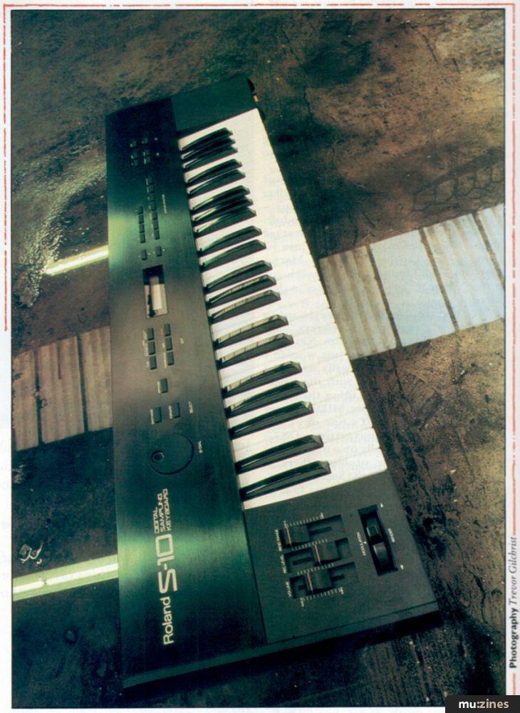 Roland S10 (MT Dec 86)