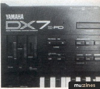 Yamaha DX7IID & DX7IIFD FM Digital Synthesisers (MT Mar 87)