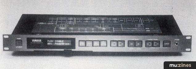 Yamaha TX81Z & MDF1 (MT Jul 87)