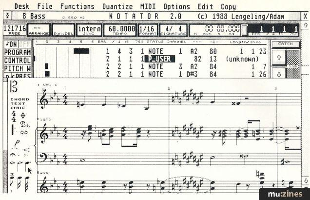 C-Lab Creator And Notator (MT Feb 89)