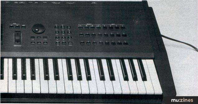 Yamaha SY77 Performance Synthesiser (MT Jan 90)