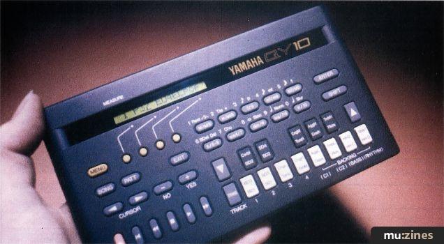 Yamaha QY10 (MT May 91)