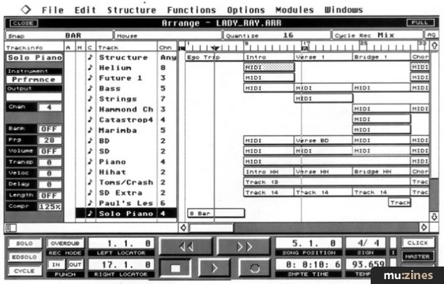 Steinberg Cubase (MT Aug 89)
