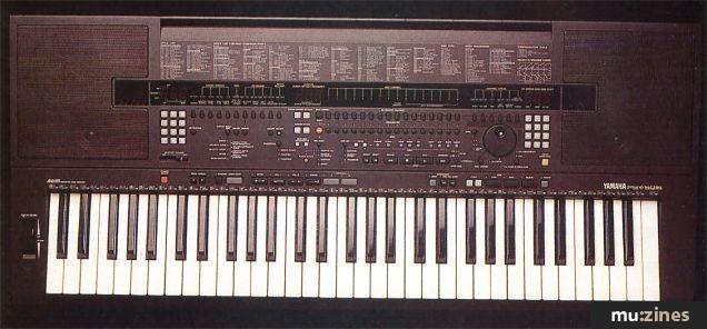 Yamaha PSR-SQ16 Keyboard (MT Dec 92)