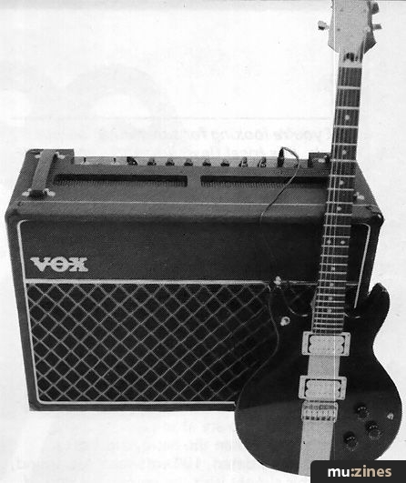 Vox Climax Valve Combo (MU Sep 82)