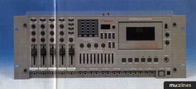 Vestax MR44 Cassette Multitrack (RM Oct 92)