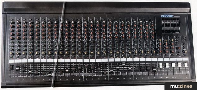 Peachy Phonic Pmc 240A Mixing Desk Rm May 93 Largest Home Design Picture Inspirations Pitcheantrous