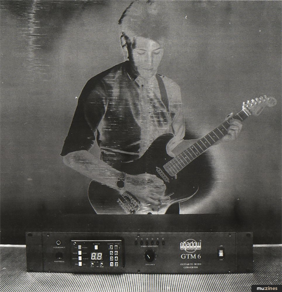 Shadow Guitar To MIDI Converter (SOS Sep 86)