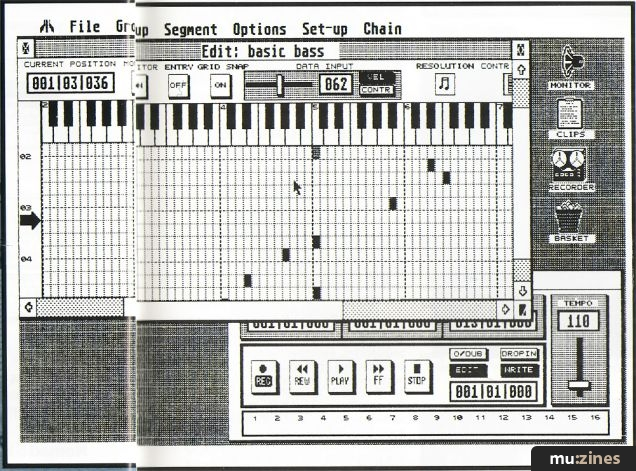 Iconix MIDI Sequencer (SOS Jun 87)