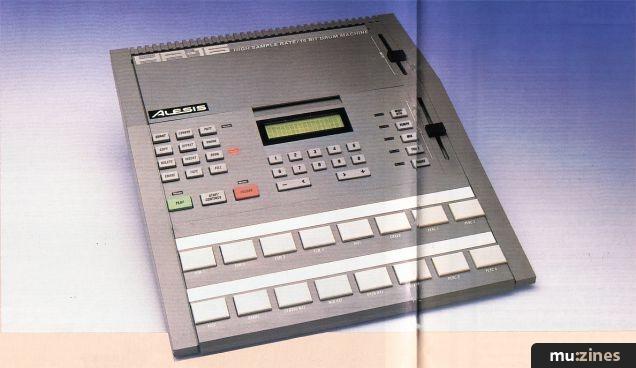 Alesis HR-16 Drum Machine (SOS Jan 88)