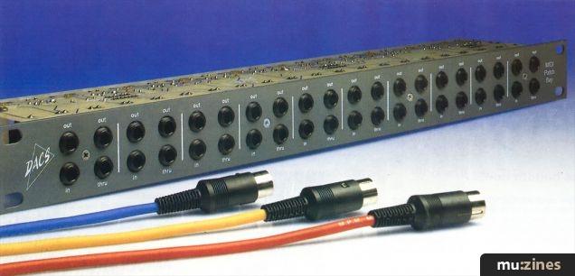 DACS MIDI Patchbay (MT Feb 89)