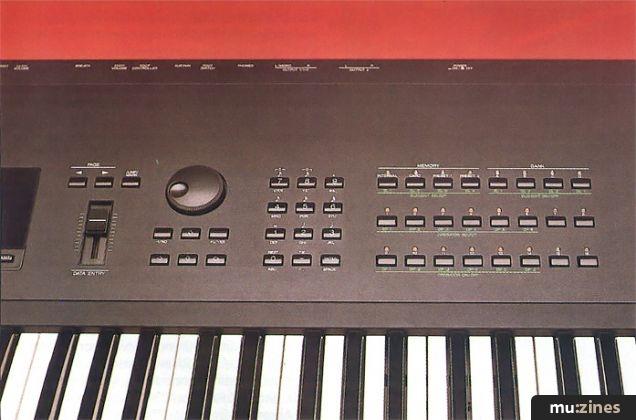 Yamaha SY77 (SOS Jan 90)