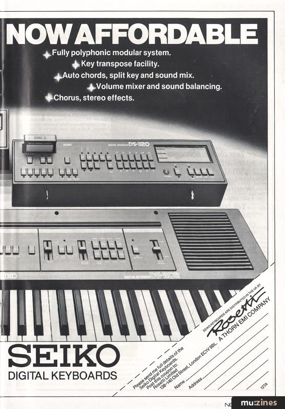 Ad - Seiko DS101 (12T Nov 83)