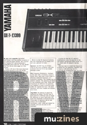 Yamaha DX7 (12T Nov 83)