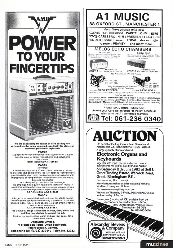 Ad - Amplifier (Combo) (EMM Jun 83)