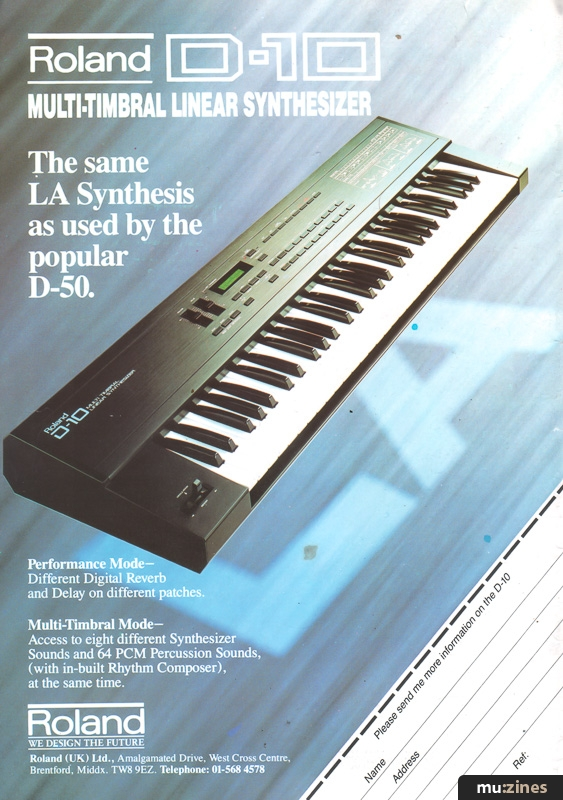 Ad - Roland D10 (MT Jun 88)