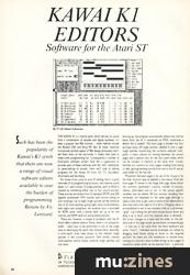 Kawai K1 Visual Editors (MT Mar 89)