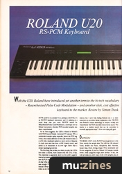 roland u20 keyboard manual