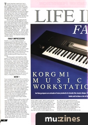 Life In The Fast Lane (SOS Aug 88)