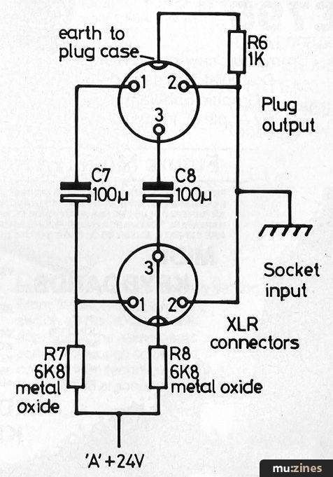 Phantom Power Supply  Hsr Oct 84